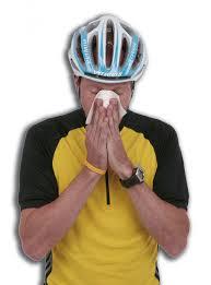 Sneezing Cyclist